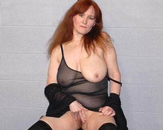 Mature mature-madness This red mama loves playing with her toys